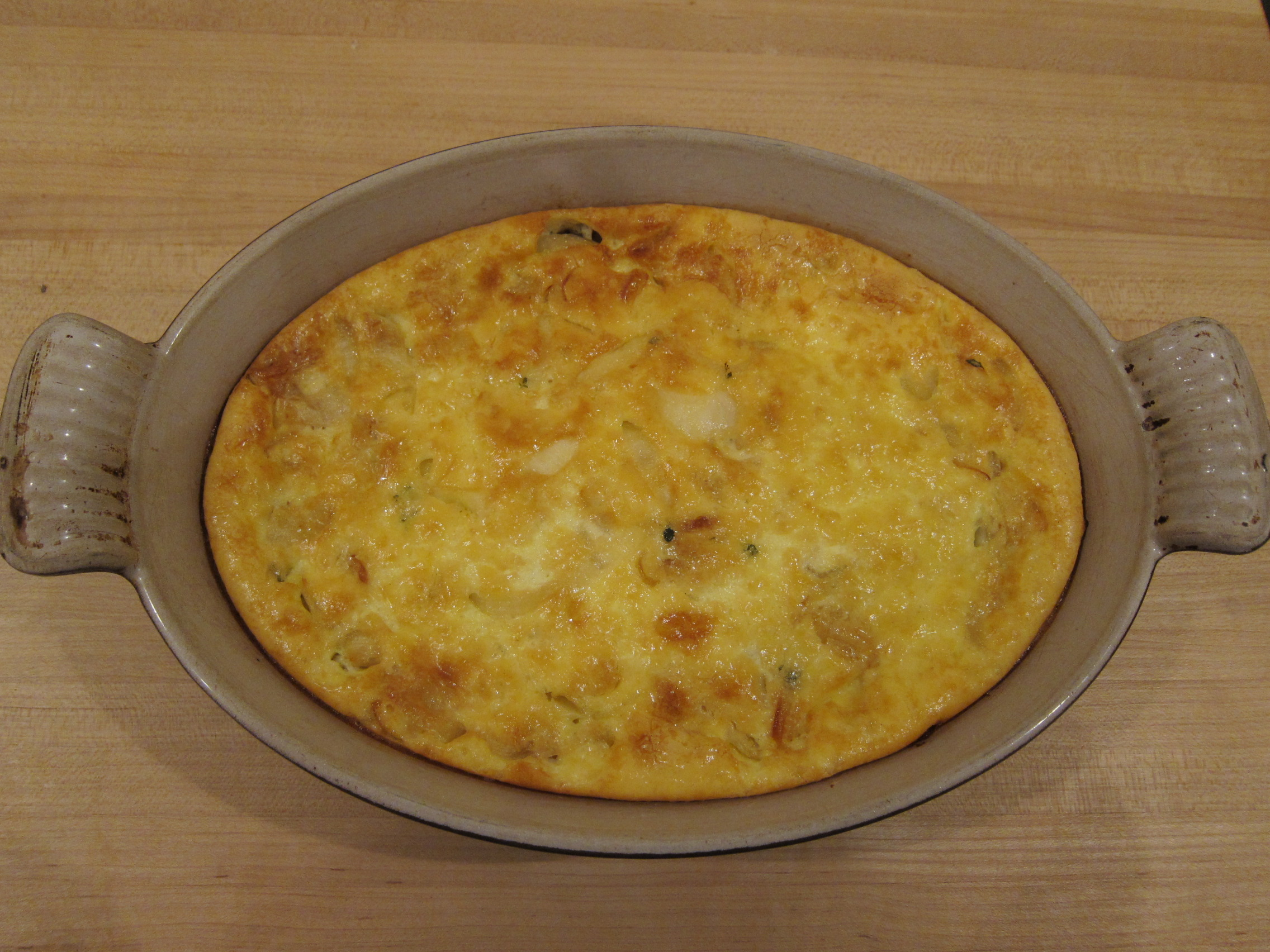 Caramelized Onion Pudding