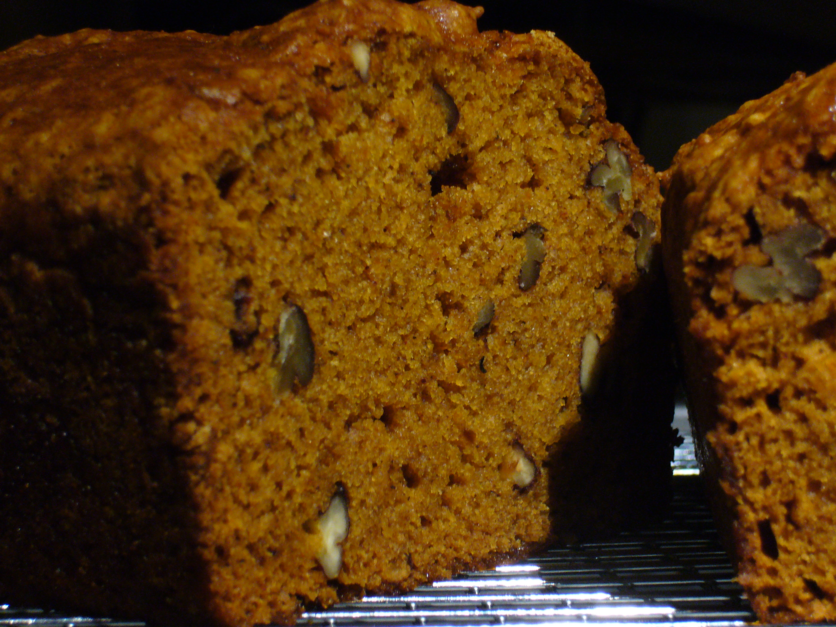 Pumpkin Christmas Bread