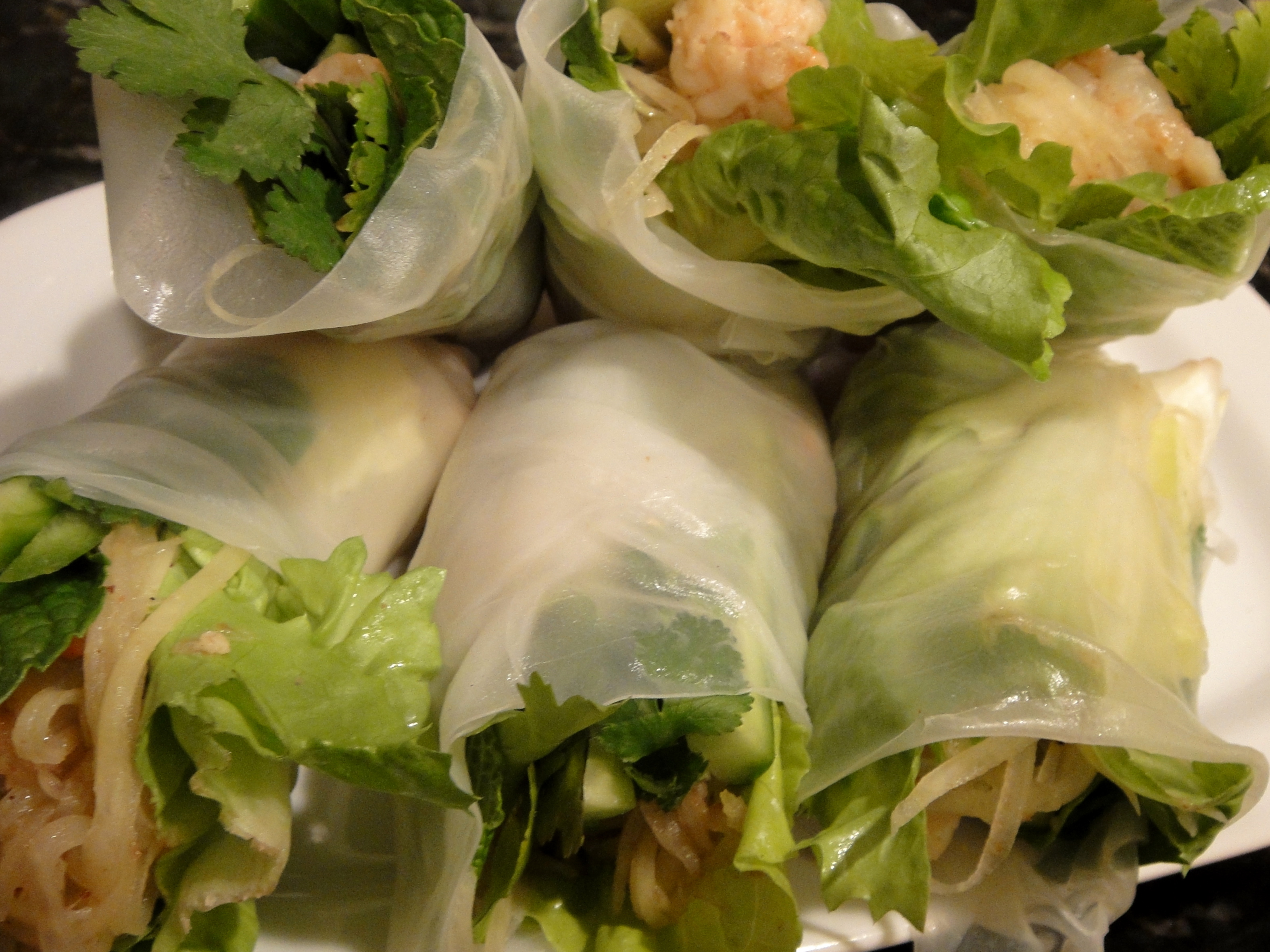 Pad Thai Spring Rolls