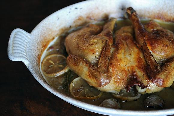 spatchcocked chicken