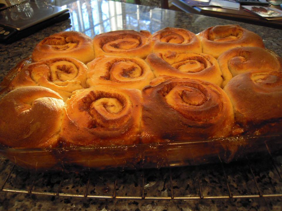 Cinnamon Swirl Sticky Buns