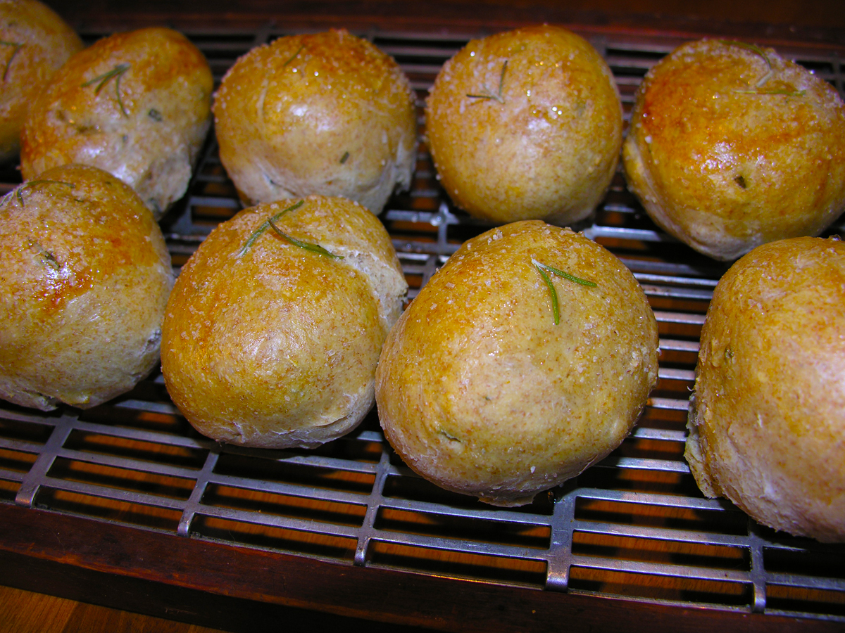 Rosemary lemon rolls