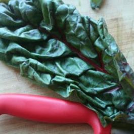 Simple Sauteed Swiss Chard