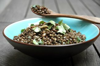 Cooked_green_lentils