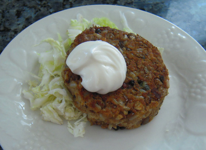 Lentils Once, Twice, and Thrice: Lentils Once with Brown Rice, Lentils Twice in Soup, and Lentils Thrice as Lentil Cakes