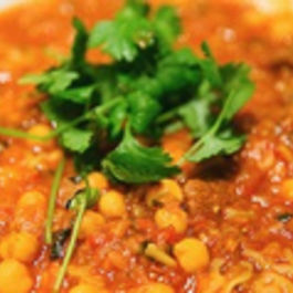 Lentil & Chorizo Stew with Saffron & Cinnamon