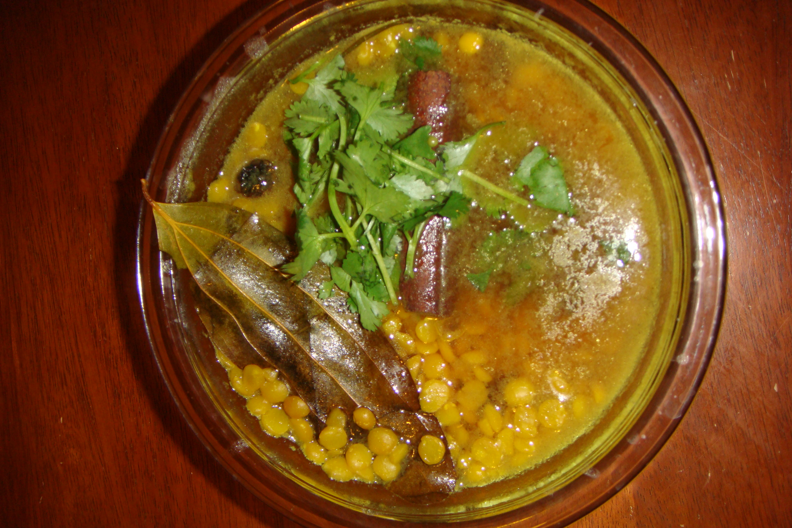 Chana Dal (Lentil Curry) Bengali Style
