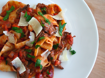 ragu serve this this is not mine i don t have short rib ragu with ...