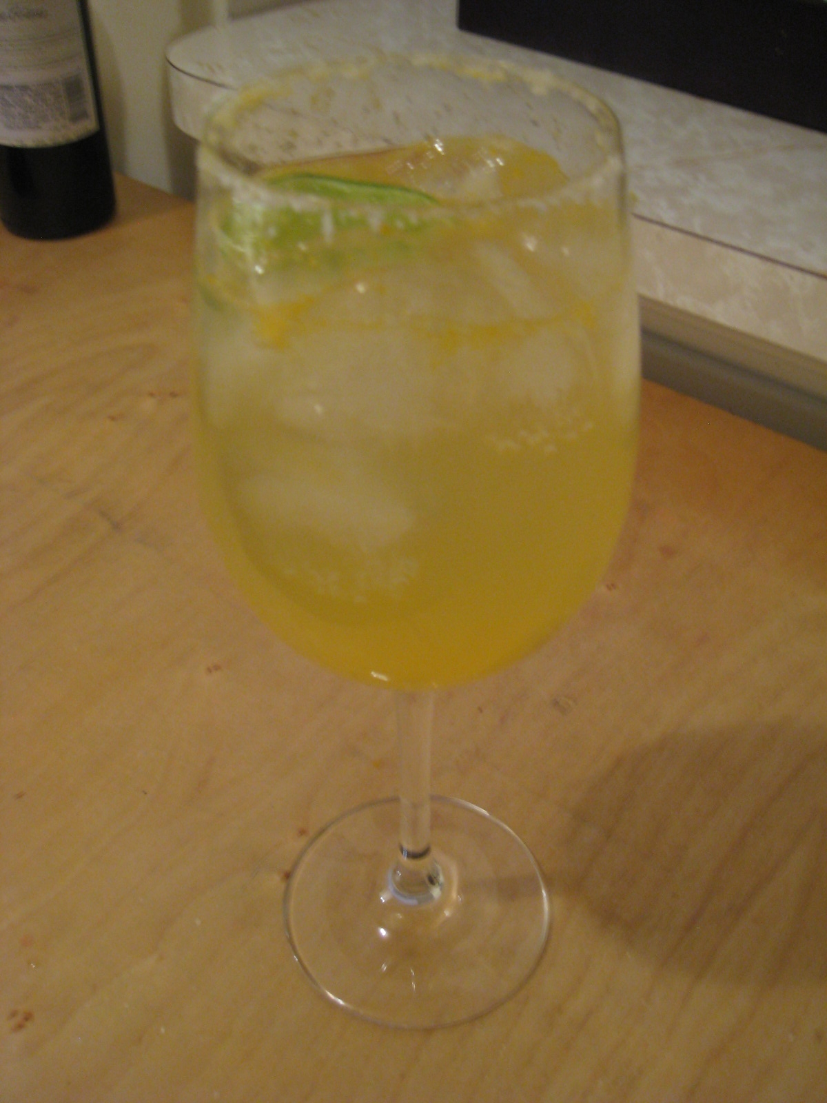 Post-holiday Clementine Cocktail