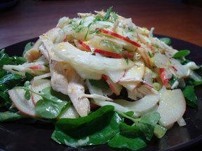 Apple-salad-with-citrus-vinaigrette