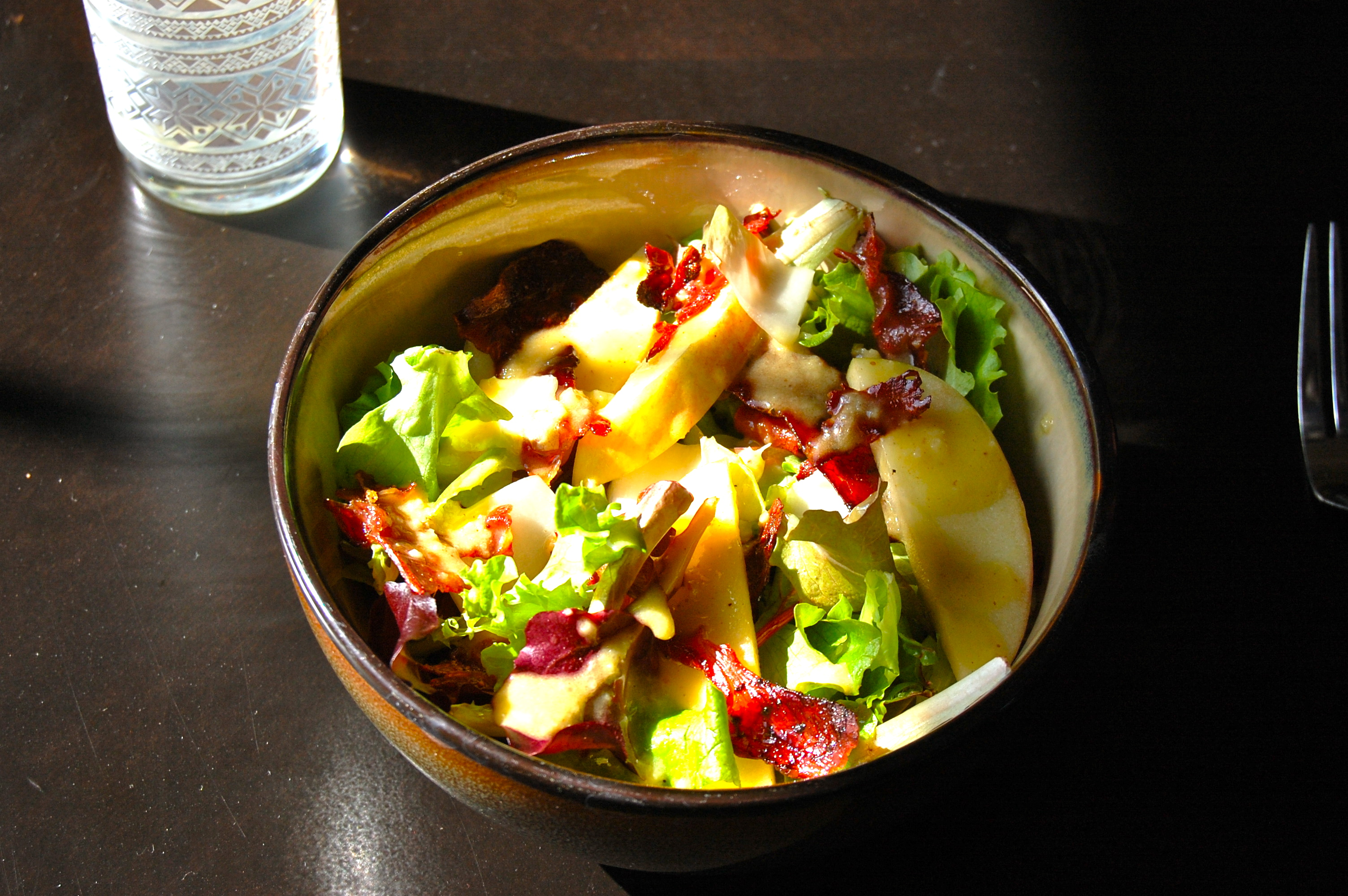 Apple Maple Prosciutto Salad