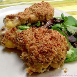 Crispy Chicken Drumsticks aux Trois Herbes