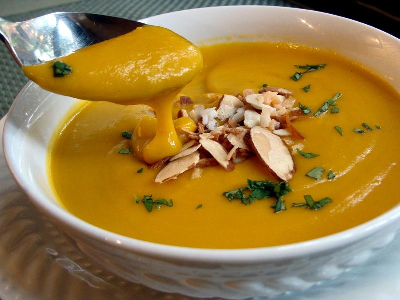 Velvety Butternut Squash Soup