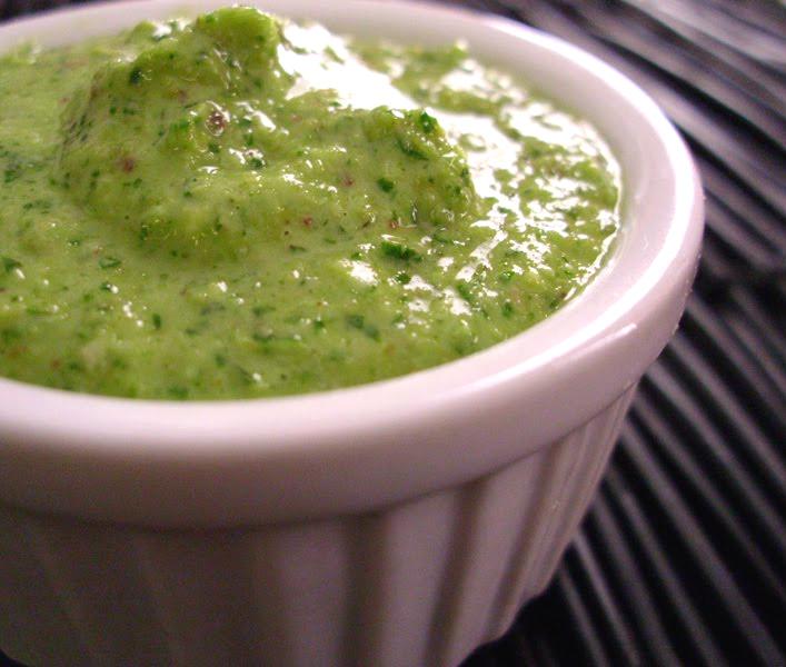 Cilantro-Pistachio Pesto