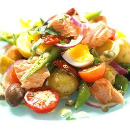 Seafood Nicoise Pasta