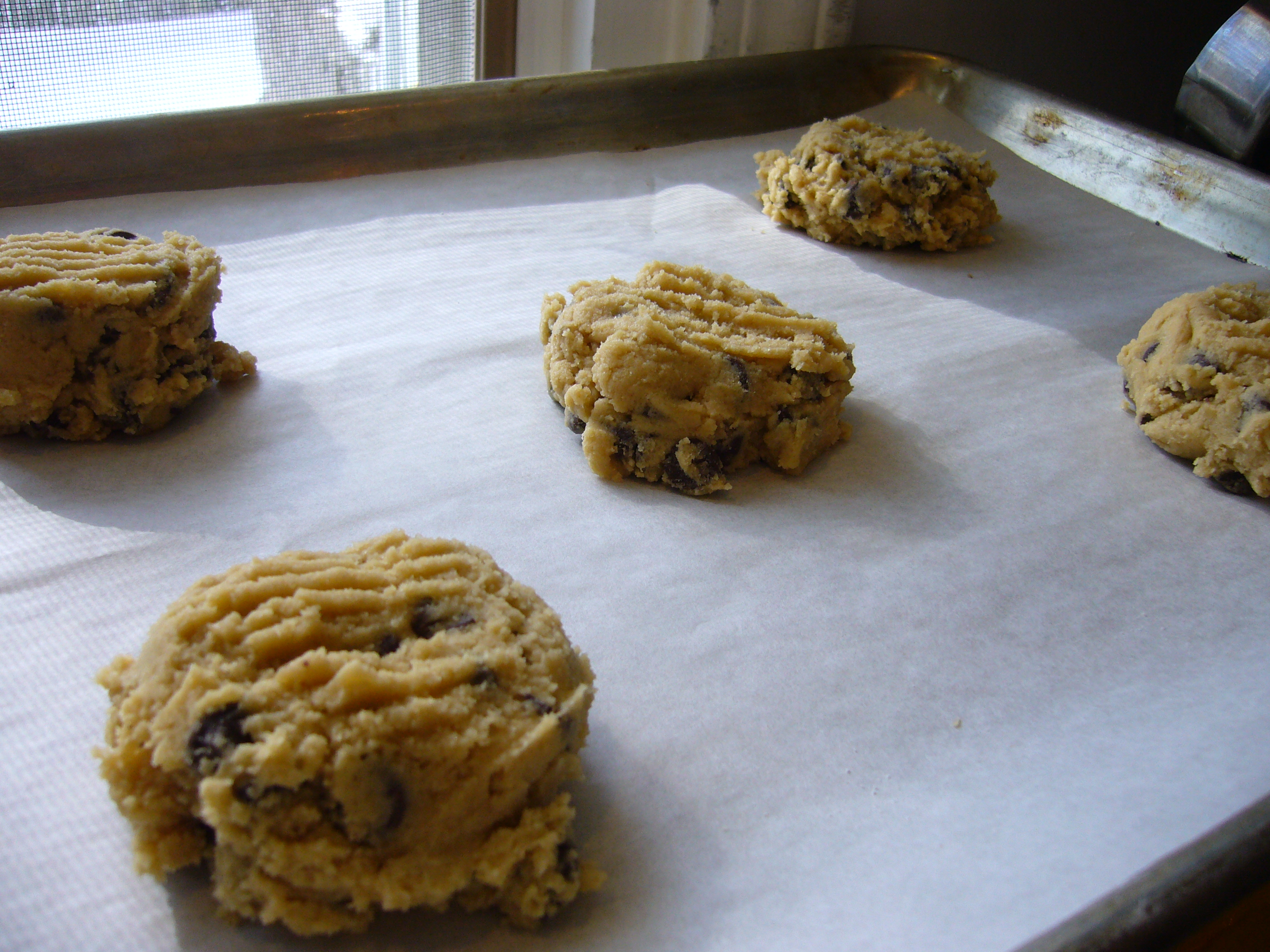 Chubby Chewy Chocolate Chip Cookies