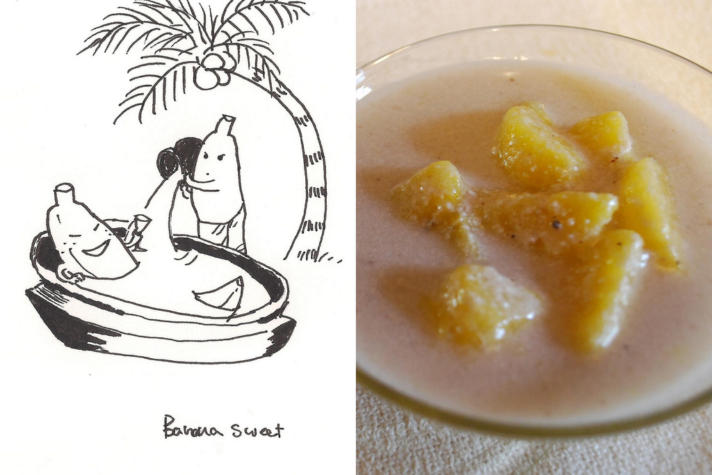 BANANA IN COCONUT SAUCE