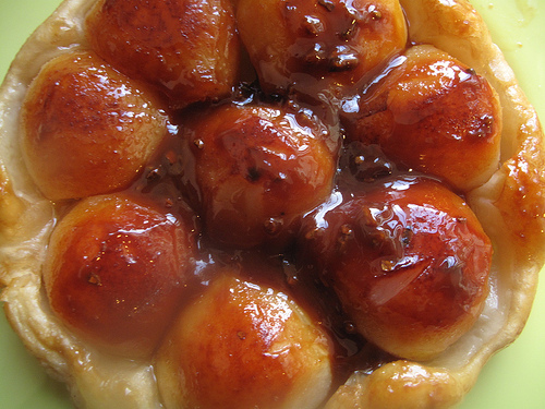 Pear and Ginger Tarte Tatin