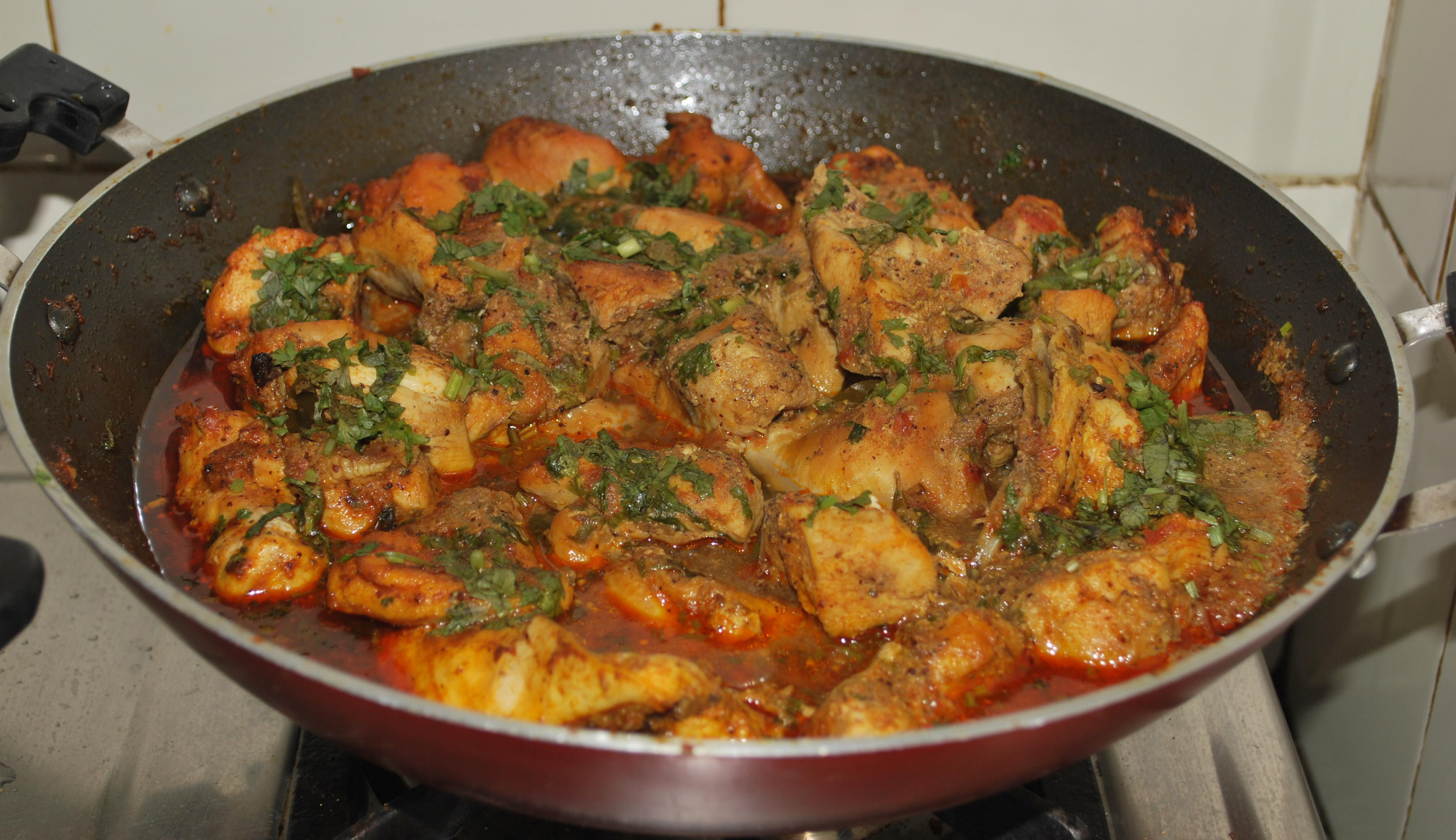 """""""Backstretch Chef""""-inspired Curry Chicken"""
