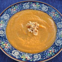 Creamy (but Dairy-Free) Cardamom Carrot Soup