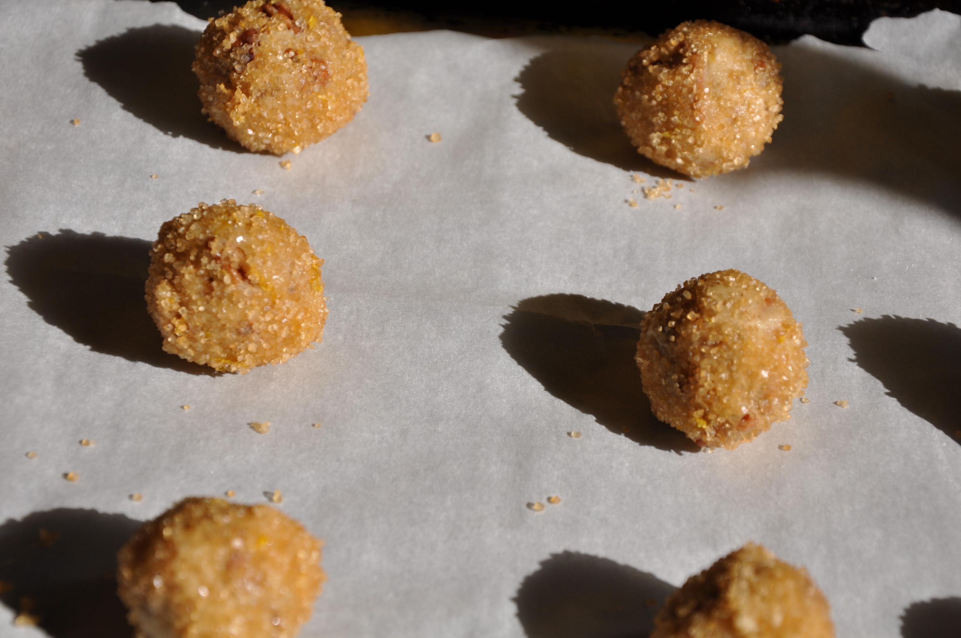 Crispy Cardamom-Brined Nut Cookies