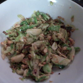 Anchovy Kissed Brussel Sprouts