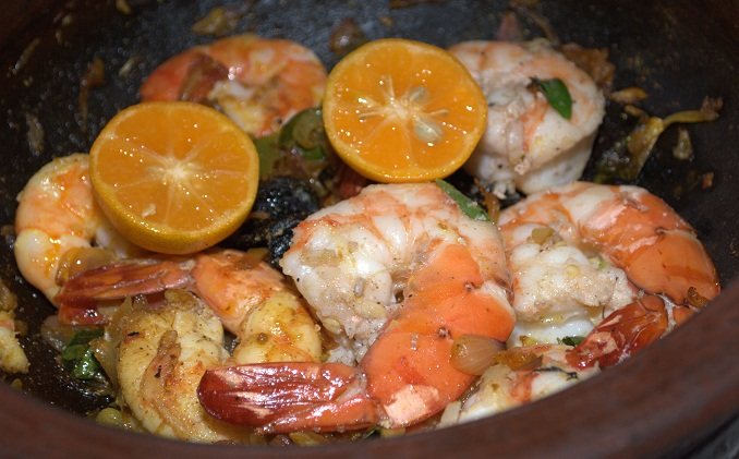 Grilled Sand lobster With Citrus