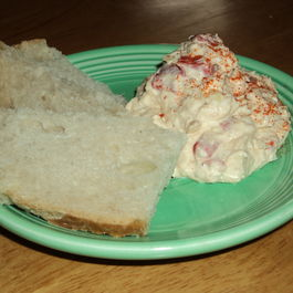 Crab, Artichoke, and Roasted Red Pepper Dip