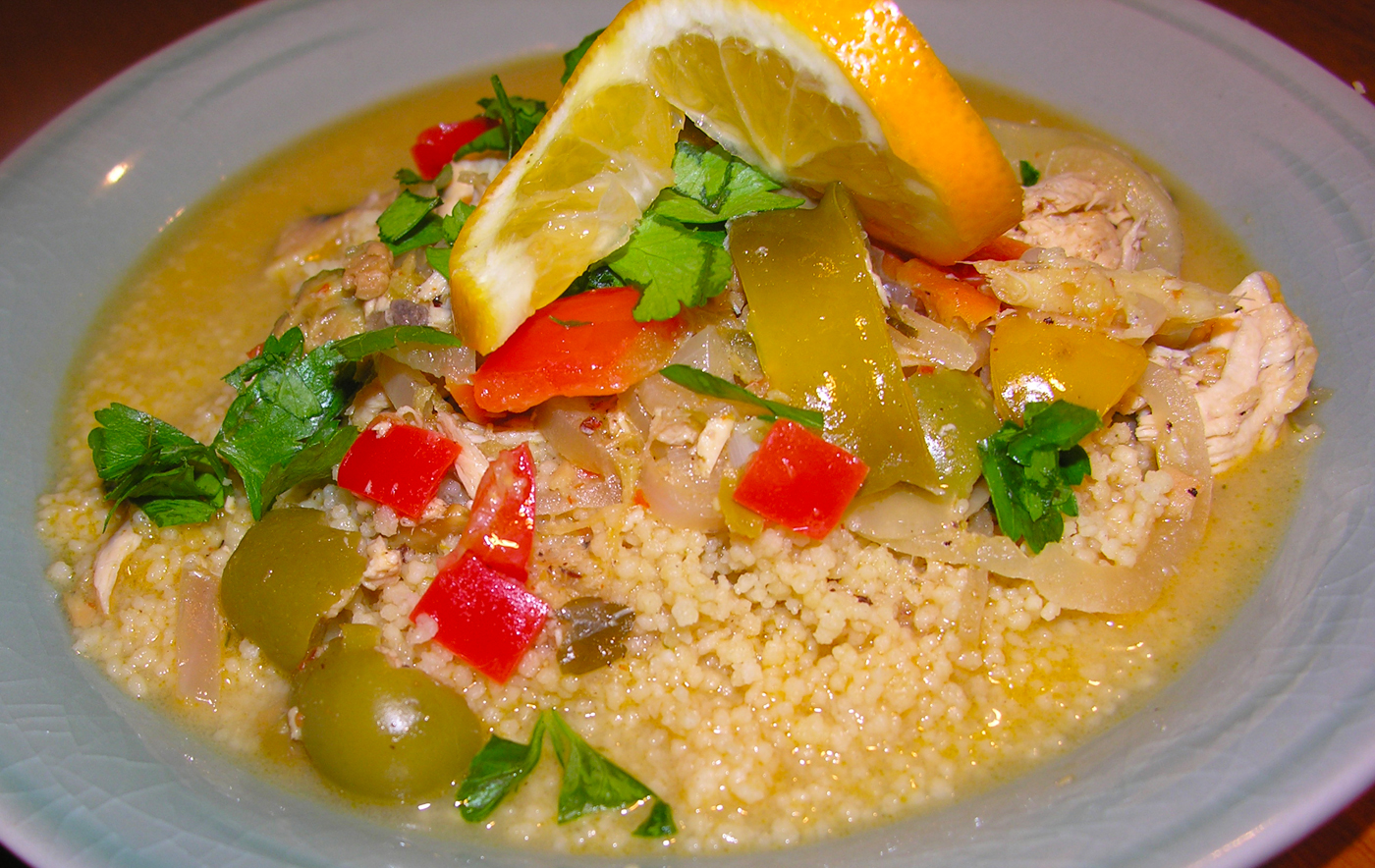 Chicken Yassa with mixed citrus