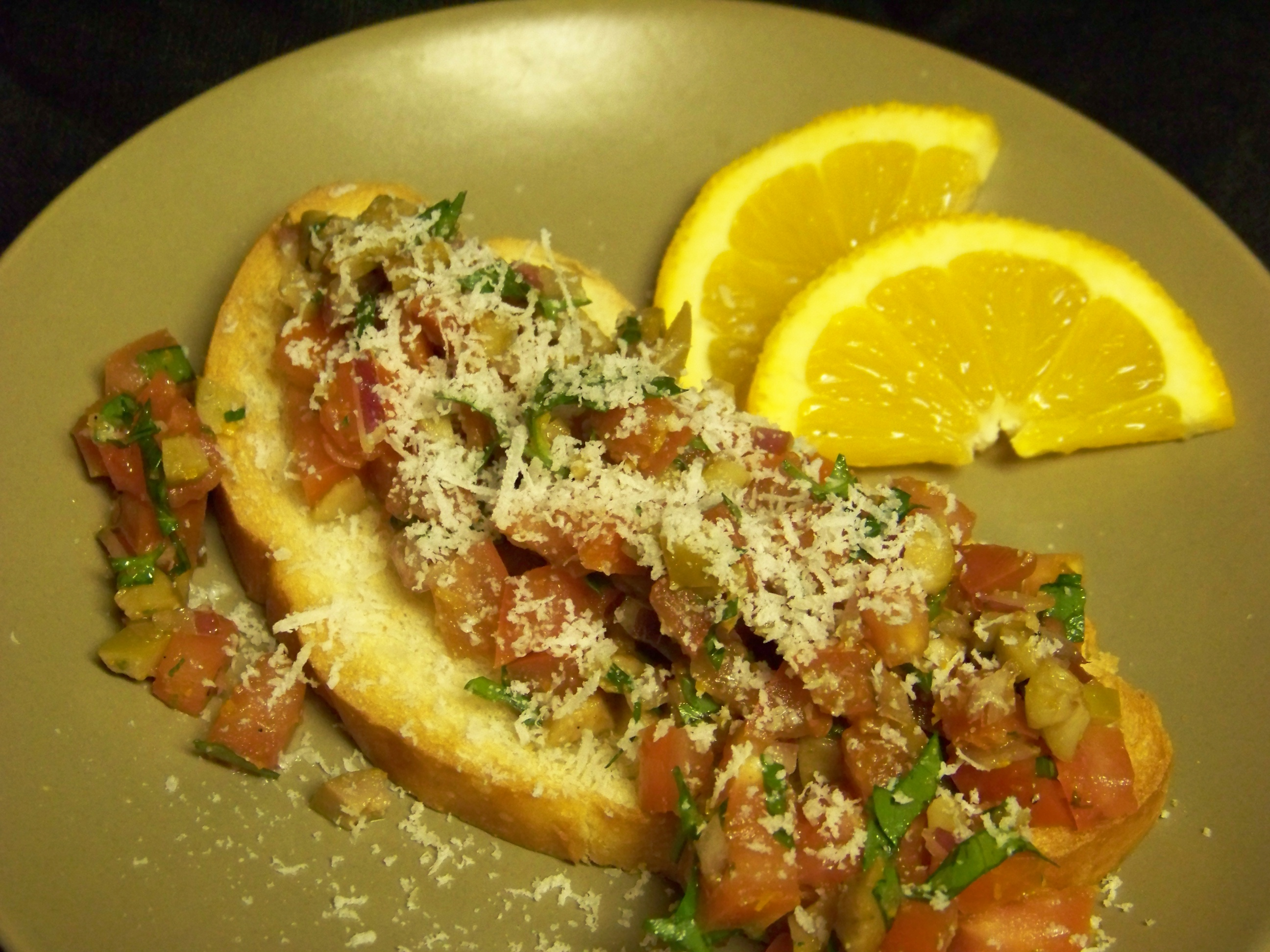 Olive & Orange Bruchetta