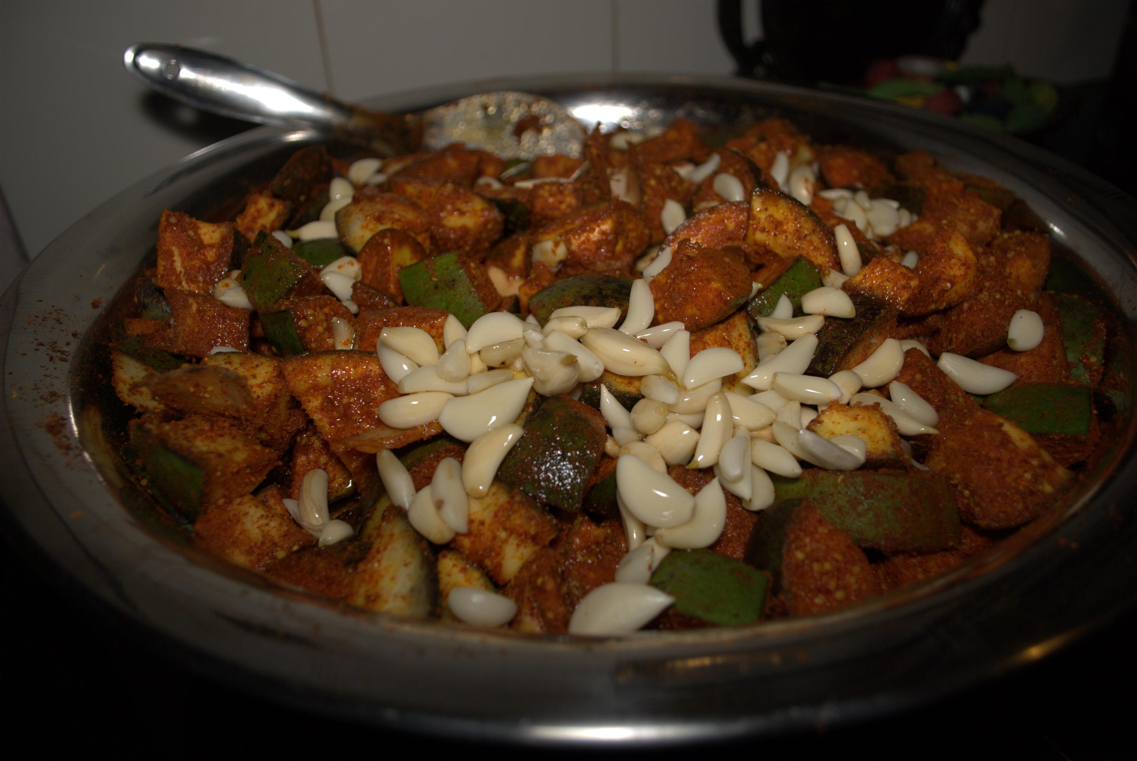 Aam Ka Achaar - Mango Mustard Pickle