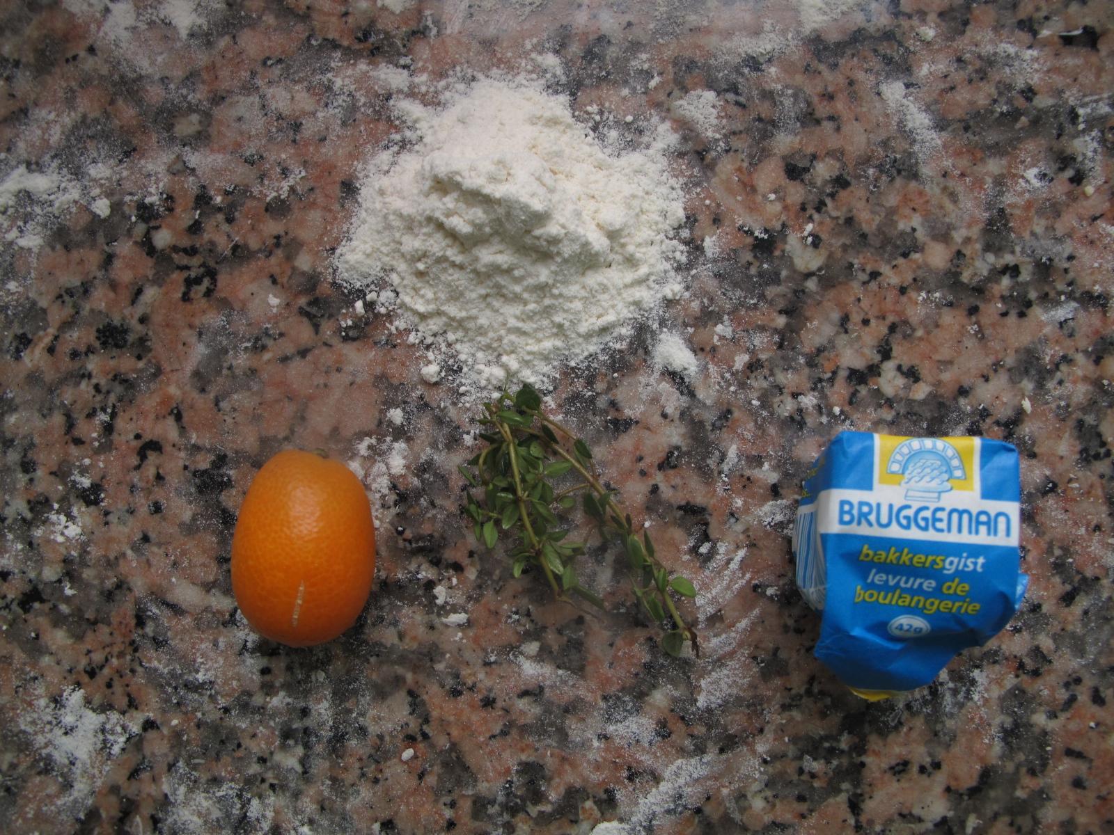 Citrus - Olive Foccacia