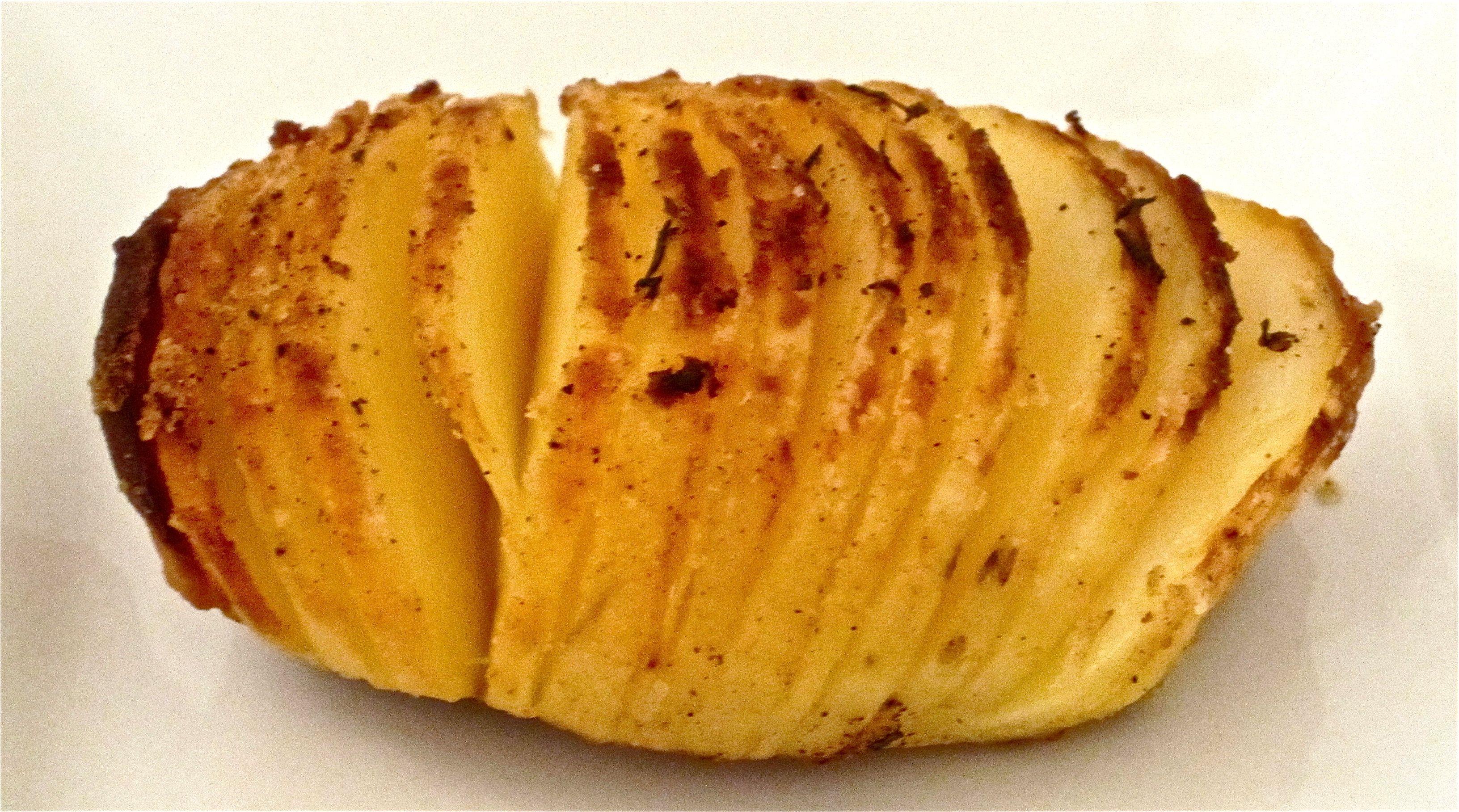 Oven-Roasted Fan Potato