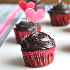 Double Chocolate Espresso Cupcakes