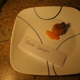 Mexican chocolate panna cotta