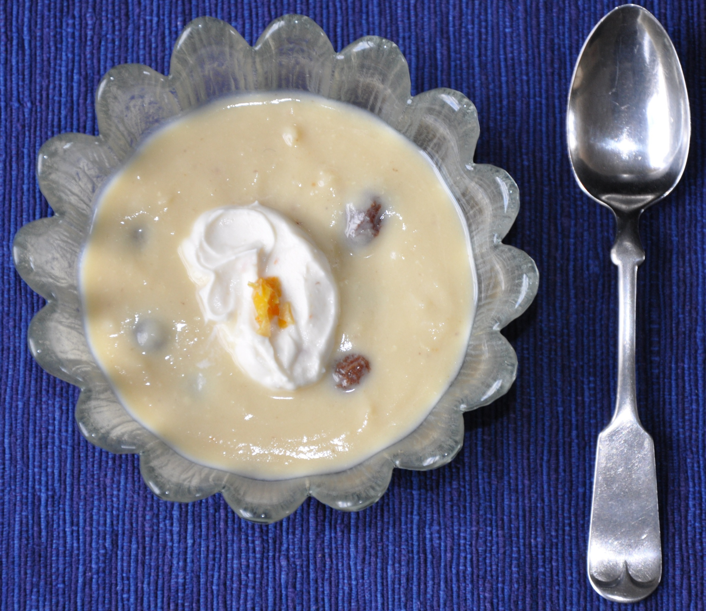 Soused Raisin Pudding