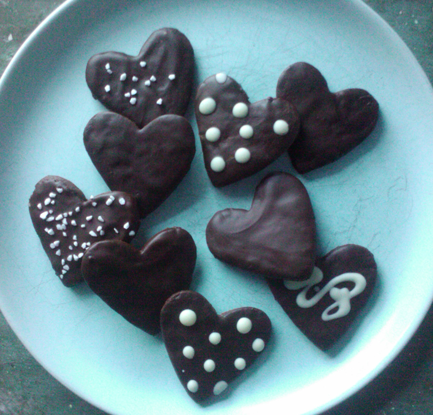 Chocolate-Covered Cherry Valentines