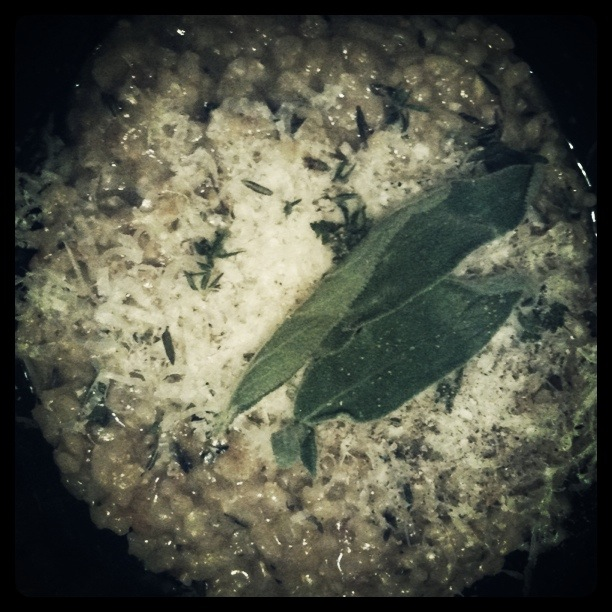 Weekend Brown Rice Risotto