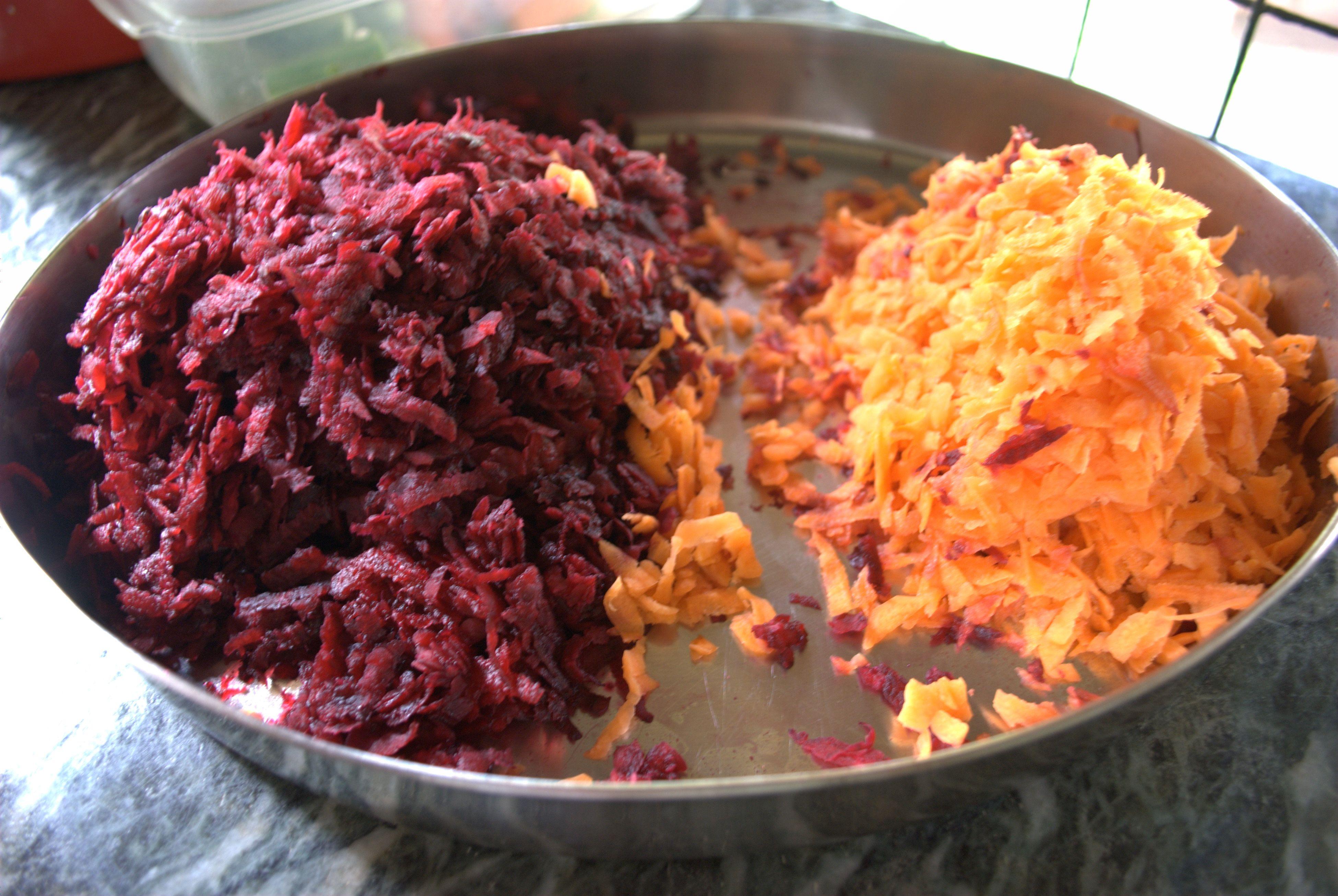 Carrot beet  Halwa