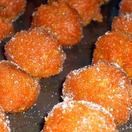 Candied Carrot Balls