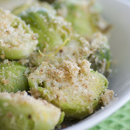 Brussels Sprouts with Toasted Breadcrumbs and Lemon