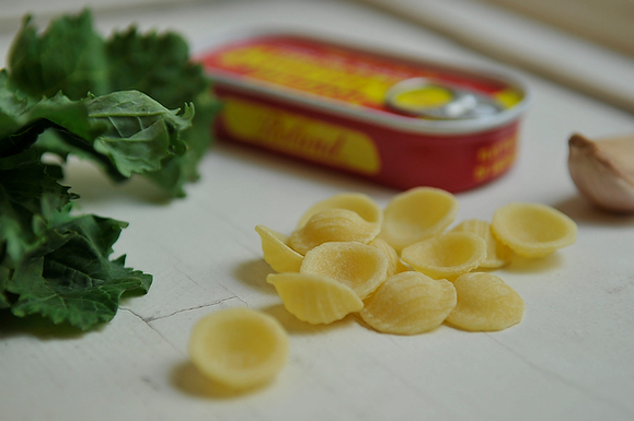 The Puglia Lady's orecchiette and rabe