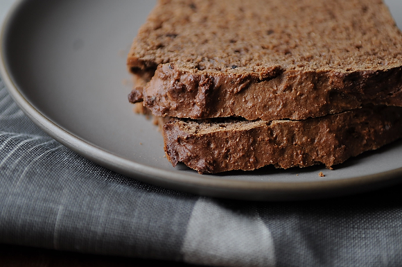 Wake-Up Cocoa Quick Bread