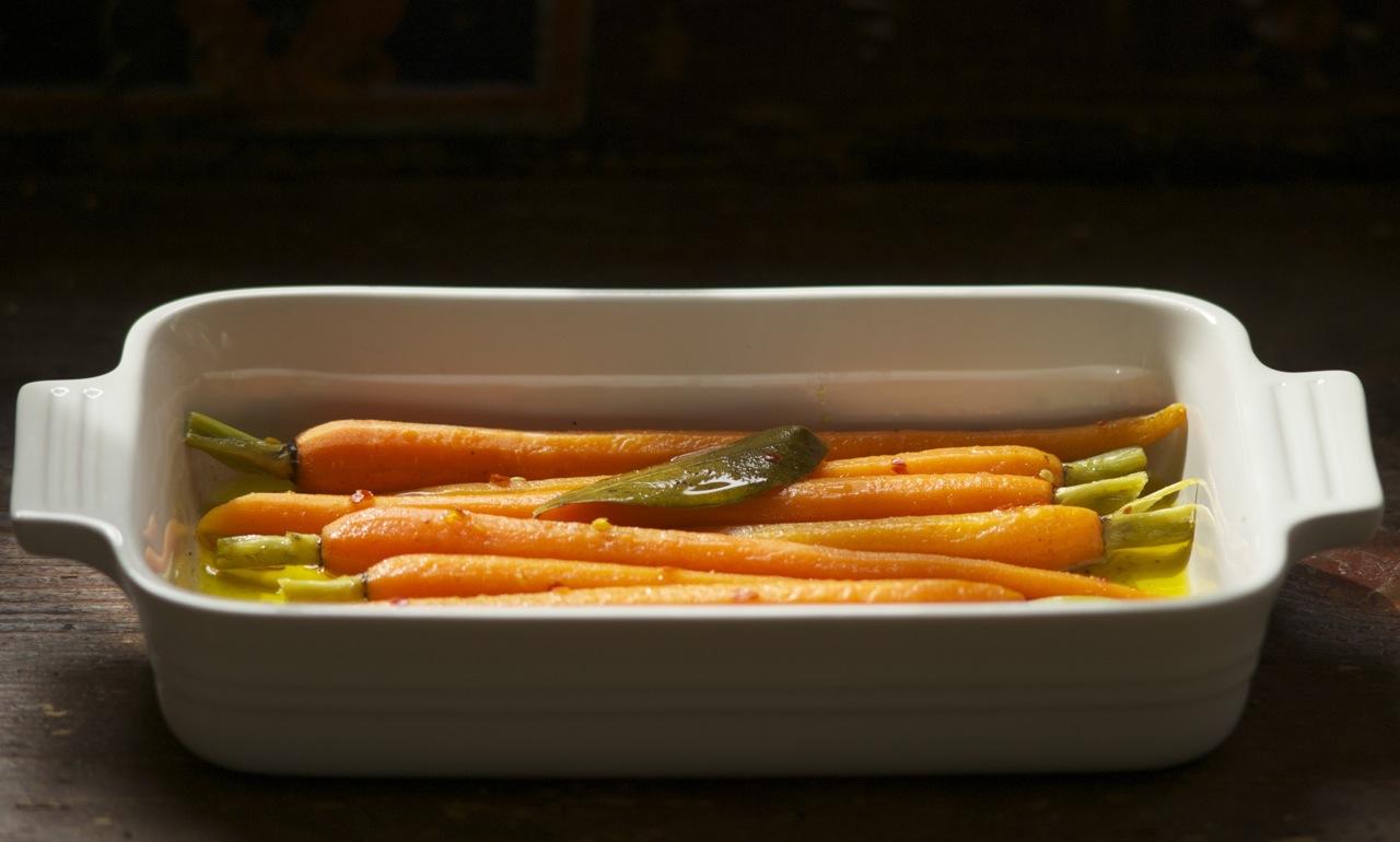Carrots a la Grecque