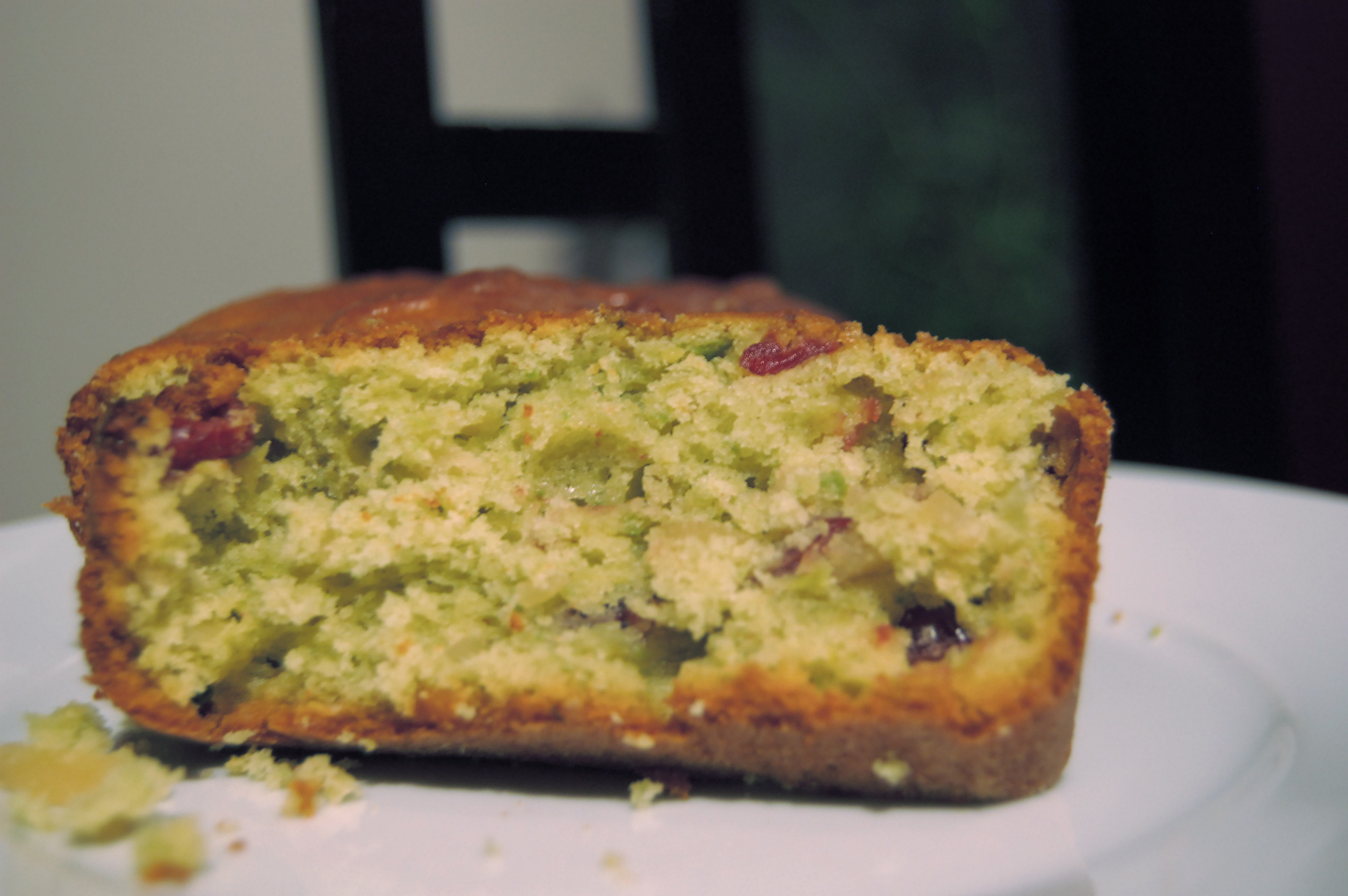 Avocado, Cranberry, and Almond Loaf