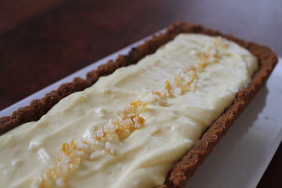 Speculoos Lemon Tart