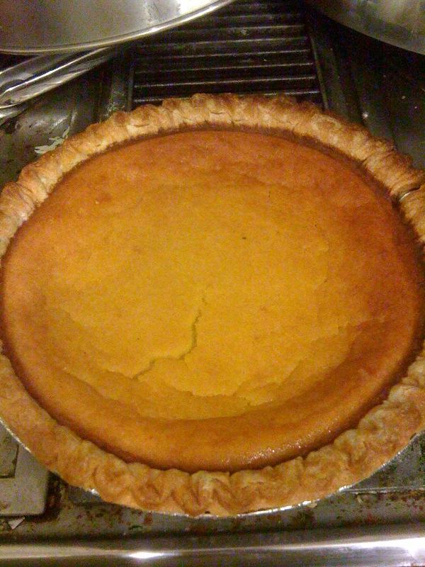 Maple Delicata Pie