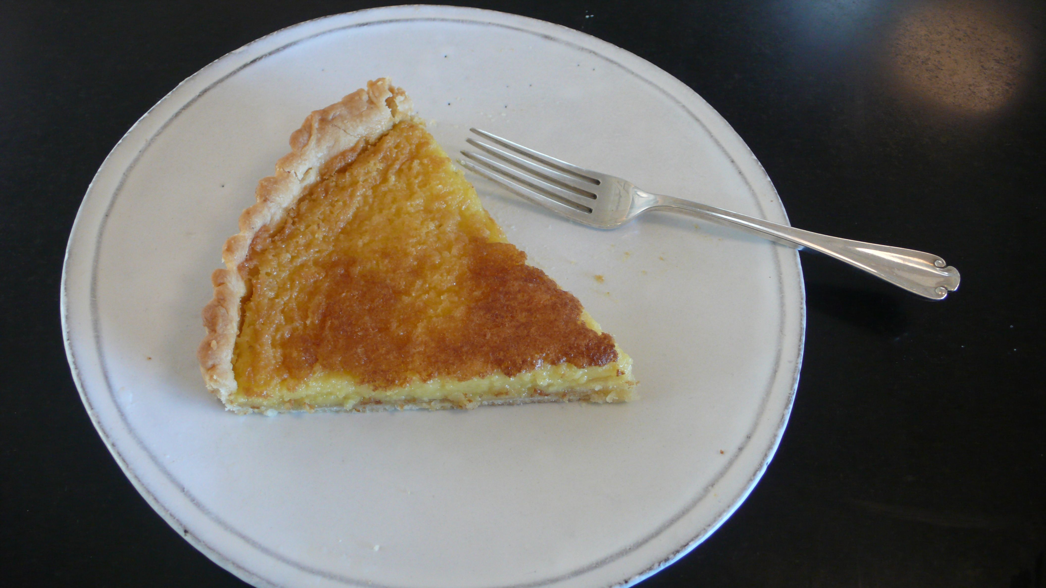 Lazy Mary's Improved Lemon Tart