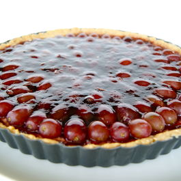 Red Wine Grape Tart