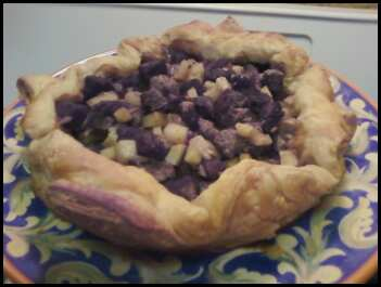 Grandma Foley's Pasty as a Rustic Tart